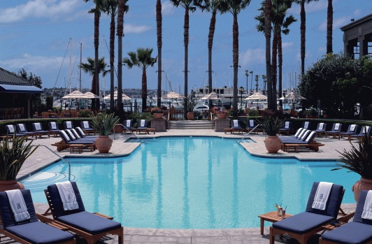 5 Star Hotels In Los Angeles Usa The Ritz Carlton Marina Del Rey Waterfront Pool