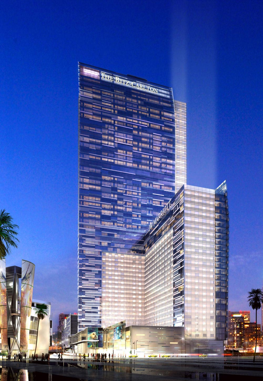Jw Marriott Hotel La Live Los Angeles Exterior View
