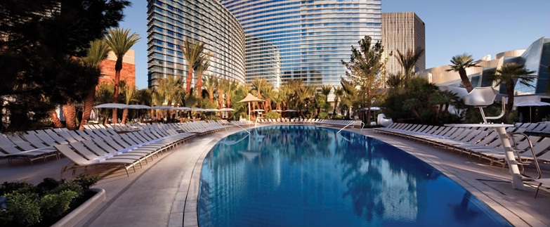 ARIA Resort & Casino at CityCenter - Pool view