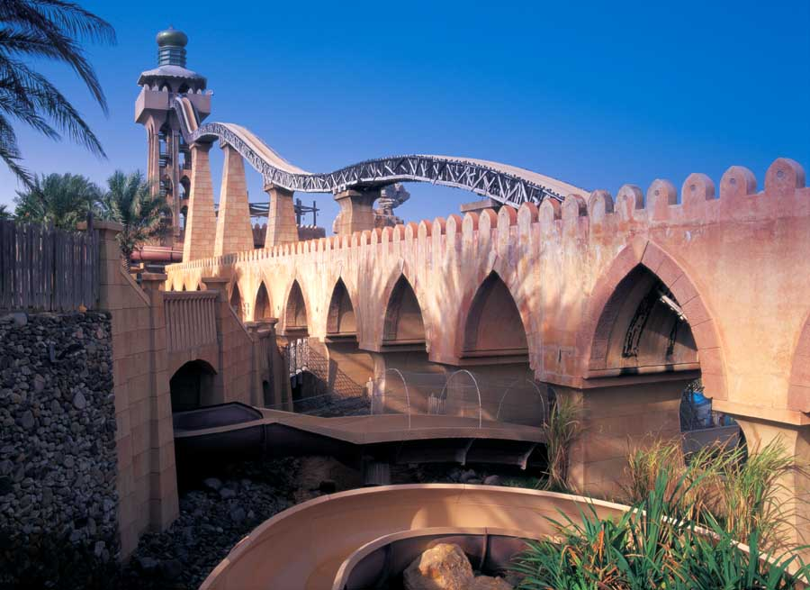 Wild Wadi Water Park, Dubai - Inside the park