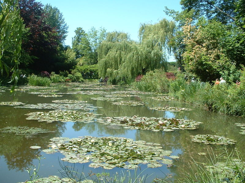Claude Monet Gardens in Giverny - Great panorama
