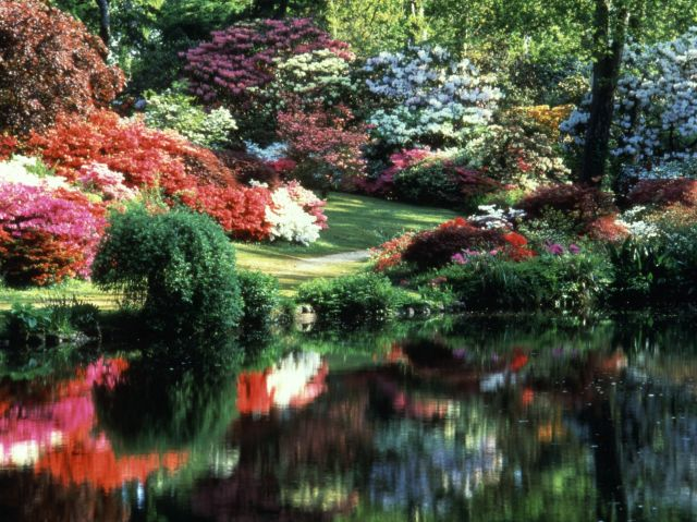Exbury gardens in uk the most beautiful gardens in the world for Beautiful garden pictures of the world