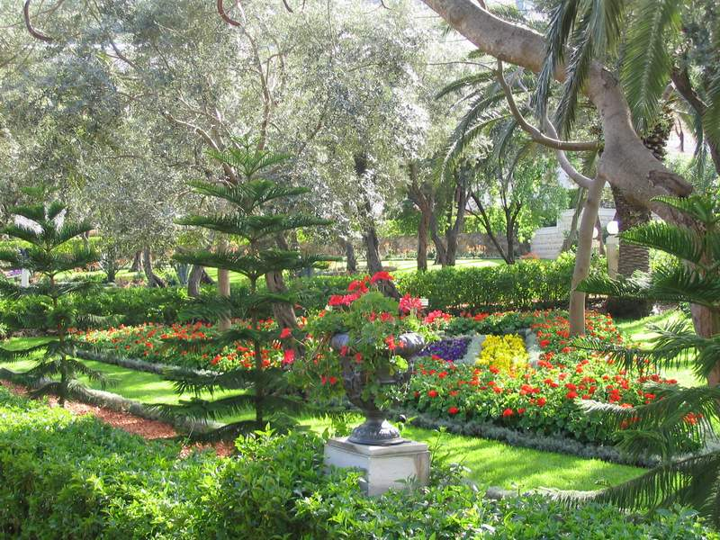 Images bahai gardens in haifa beautiful landscape 5092 for Beautiful gardens landscaping
