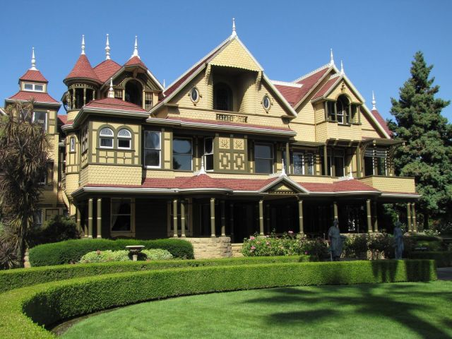 The Winchester House in San Jose, California - Exterior view