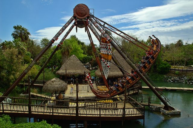PortAventura, Tarragona, Spain  - Thrill Ride