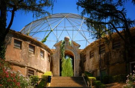 Rome Zoological Garden, Italy - Rome Zoo view