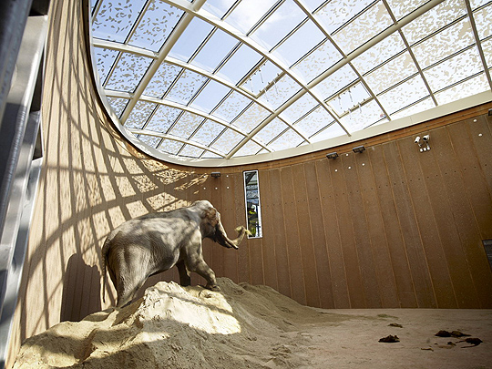 Copenhagen Zoological Garden in Denmark - Elephant House