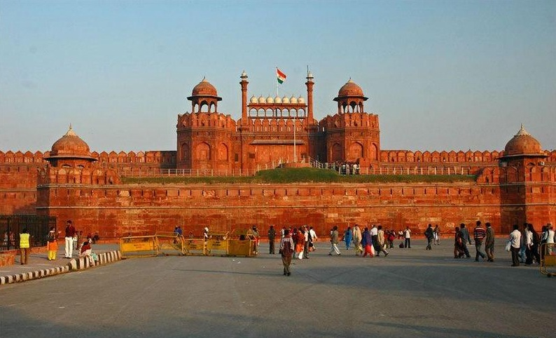 Red Fort in Delhi - General view