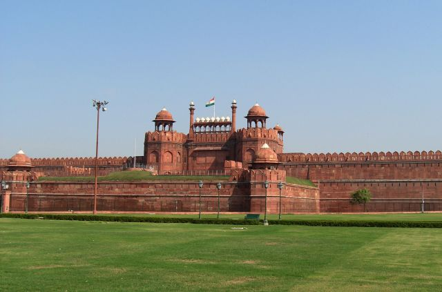 Red Fort in Delhi - Majestic complex