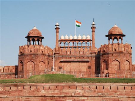 Red Fort in Delhi - Red Fort view