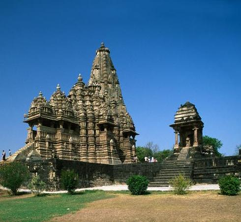 Khajuraho Temples in Madhya Pradesh - General view