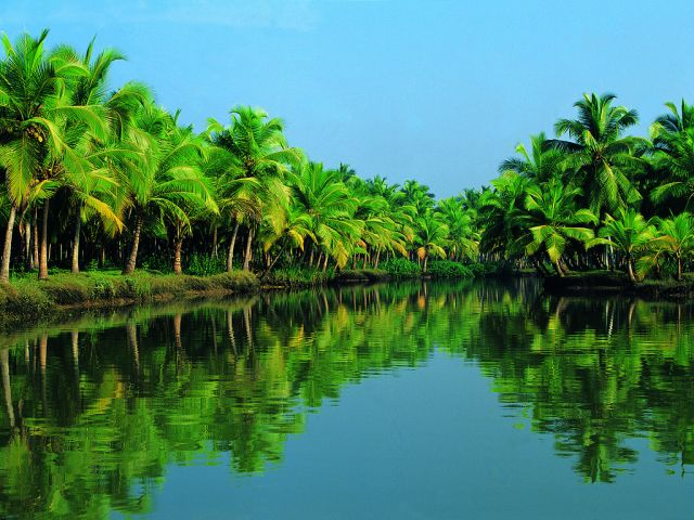 Kerala Backwaters - Paradise location
