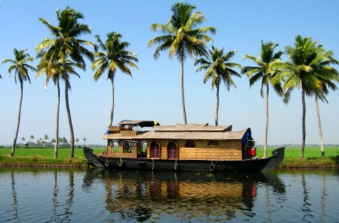 Kerala Backwaters - View of Kerala Backwaters
