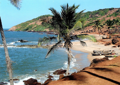 Beaches of Goa - Excellent location