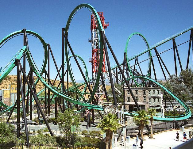 Images Six Flags Magic Mountain California Riddler S