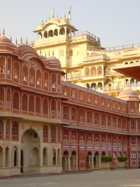 City Palace in Jaipur - Exterior view
