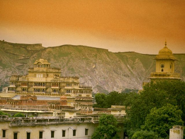 City Palace in Jaipur - General view