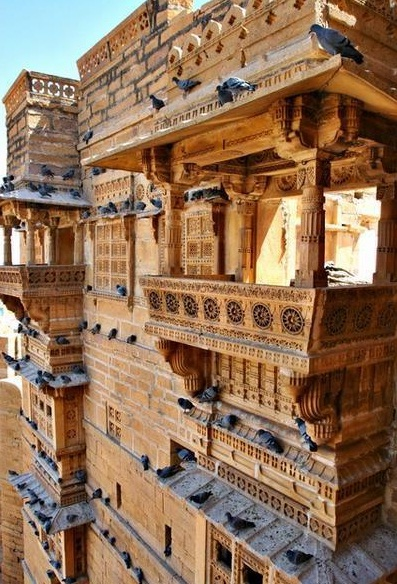Jaisalmer Fort - Unique design