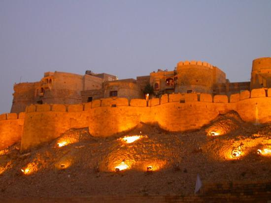 Jaisalmer Fort - View by night