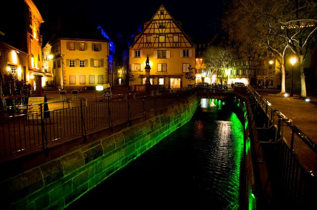Colmar in France - Night view