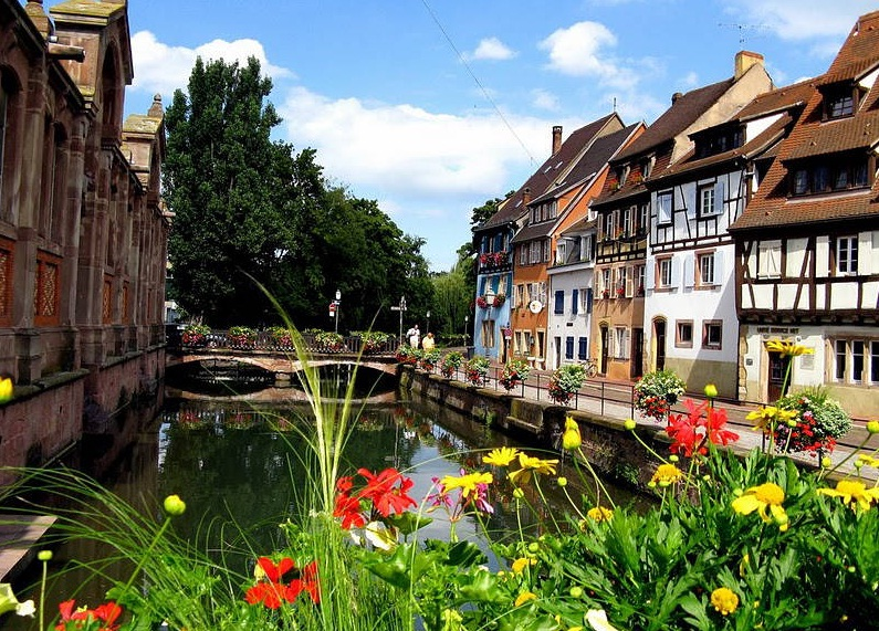 Colmar in France - Picturesque view