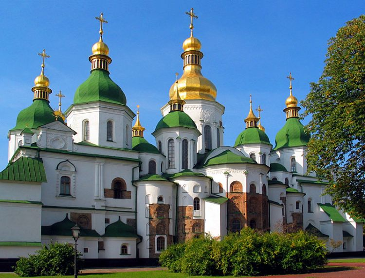 St. Sophia Cathedral in Kiev - The best places to visit in ...
