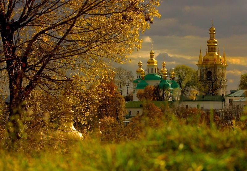 Kiev-Pechersk Lavra - Beautiful landscape