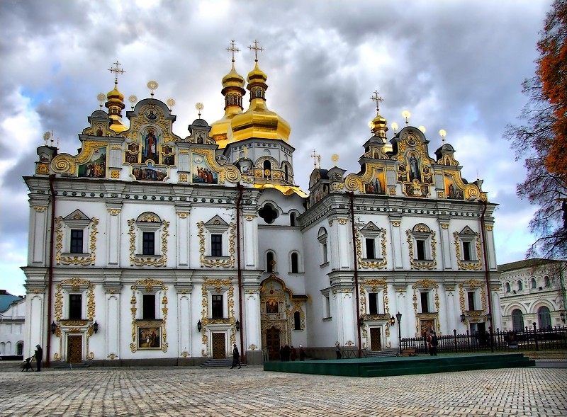 Kiev-Pechersk Lavra - General view