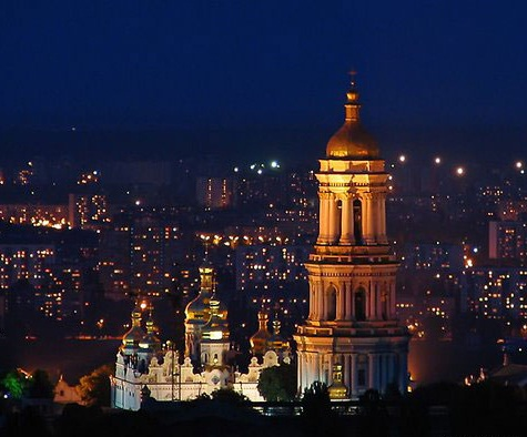 Kiev-Pechersk Lavra - Night panorama