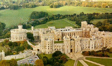 Windsor Castle - Aerial view
