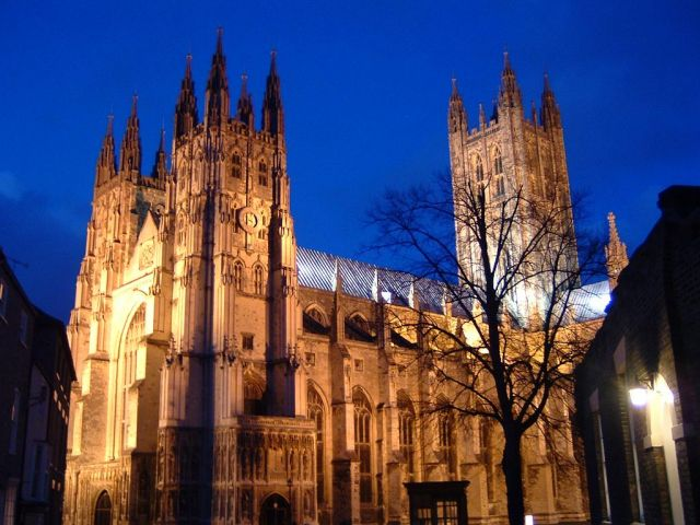 Canterbury Cathedral - Night view