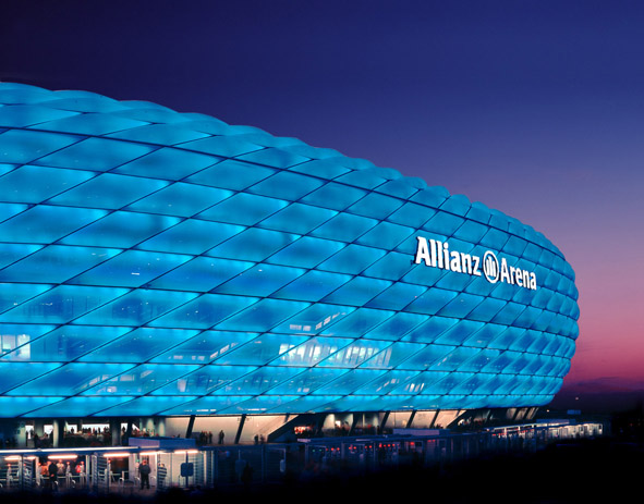 Allianz Arena in Germany - Allianz Arena view
