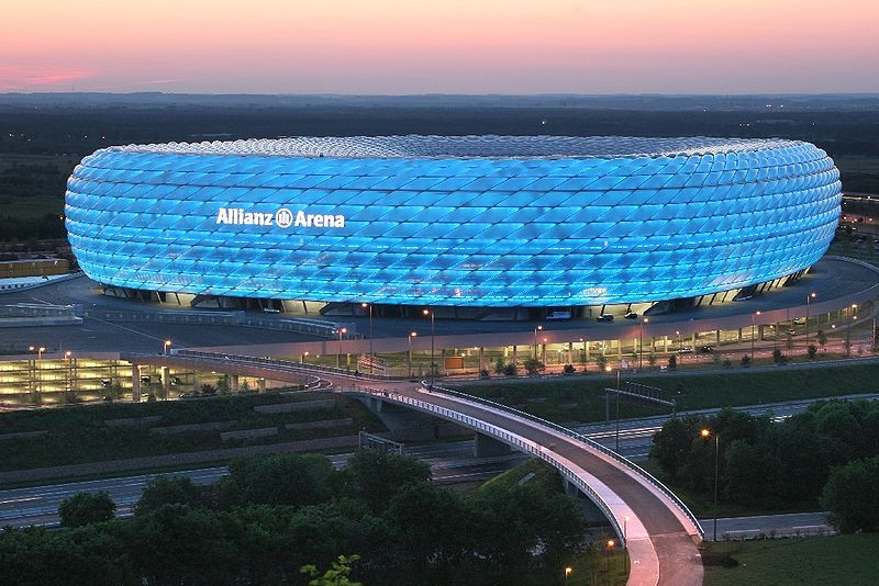 Allianz Arena in Germany - Architectural masterpiece