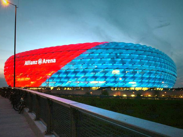 Allianz Arena in Germany - Beautiful design