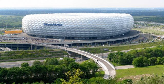 Allianz Arena in Germany - General view of the stadium