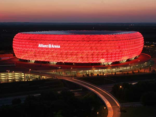 Allianz Arena in Germany - General view