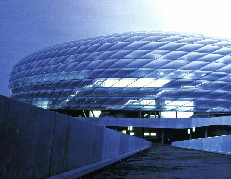 Allianz Arena in Germany - Unique architecture