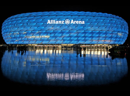 Allianz Arena in Germany - Unique design