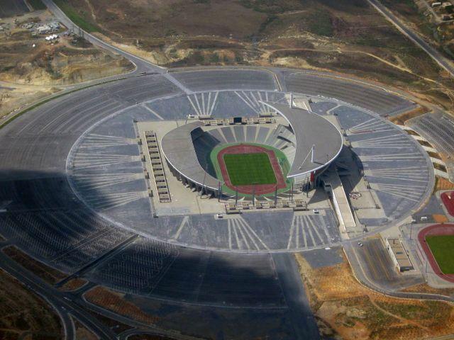 Stadium Aerial View Stadium Aerial View