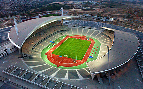 Atatürk Olympic Stadium - General view