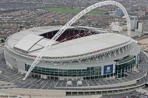 Wembley Stadium Aerial View Wembley Stadium in uk Aerial