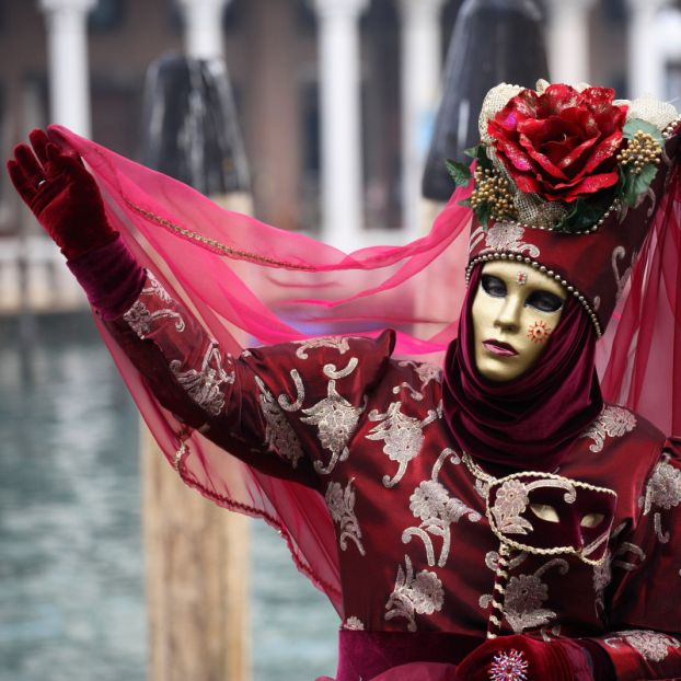 Venice Carnival, Italy - Beautiful costume