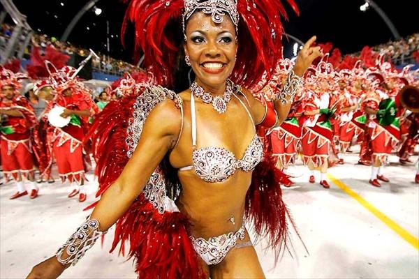 Rio de Janeiro Carnival, Brazil - Colourful festival
