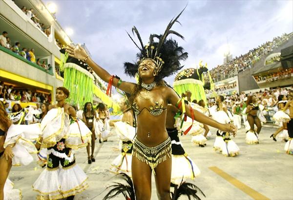 Rio de Janeiro Carnival, Brazil.