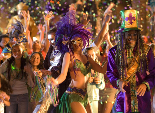 Mardi Gras in USA - Great atmosphere