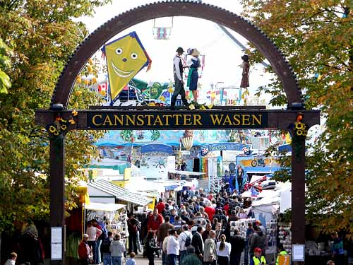 Cannstatter Volksfest in Germany - Welcome!