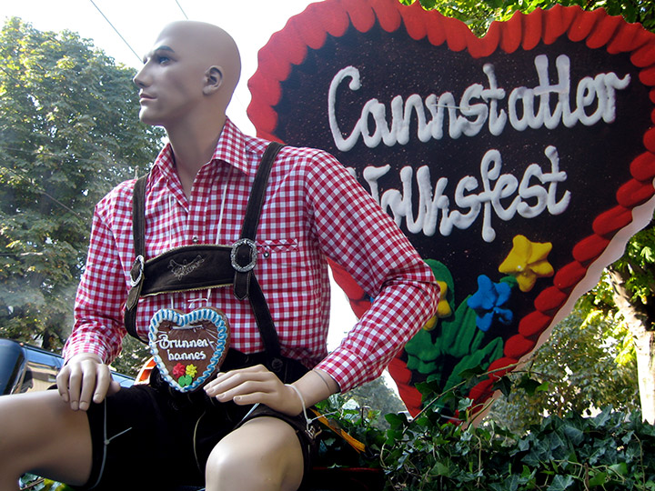 Cannstatter Volksfest in Germany - Welcome to the festival!