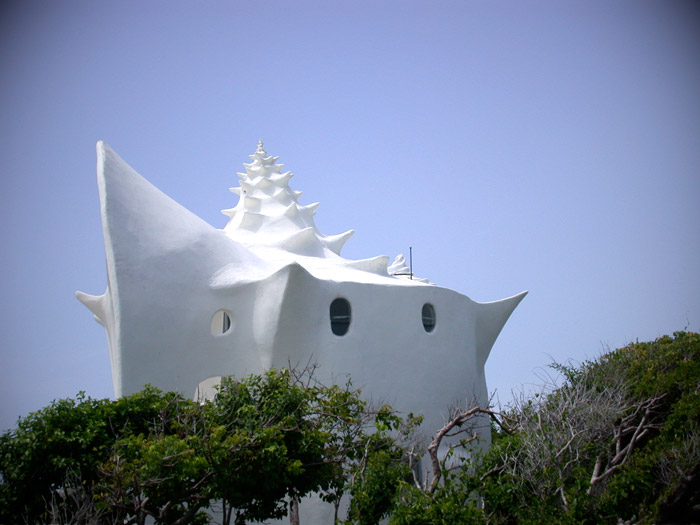 Conch Shell House - Exterior view