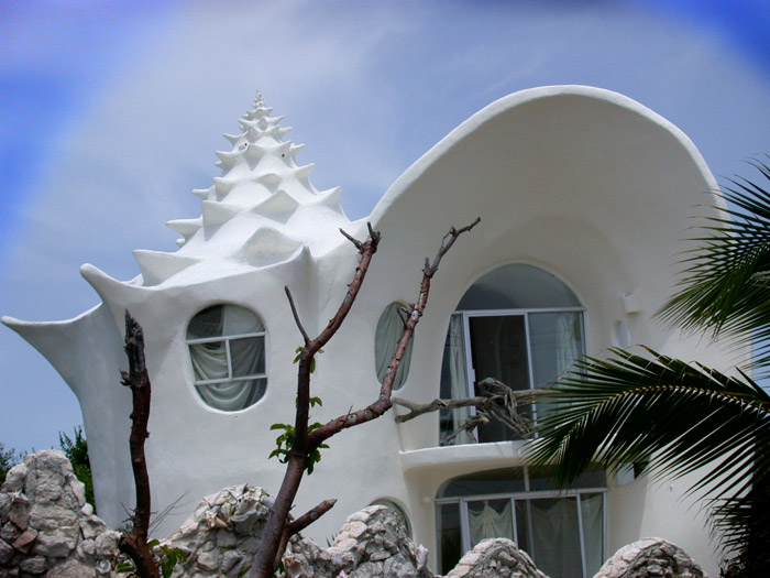Conch Shell House - Unique design