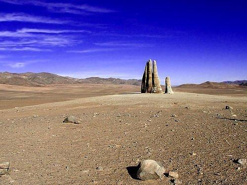 "Atacama Desert in Chile - ""Hand of the desert"""